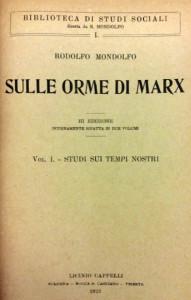Sulle orme di Marx
