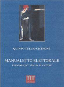 Cicerone, Manualetto elettorale