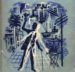 Detalle de la imagen de la primera edición de Adán Buenosayres