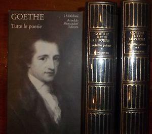 Gothe, Tutte le poesie