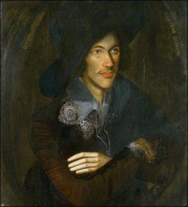 John Donne ritratto da un anonimo, 1595 circa, National Portrait Gallery, Londra