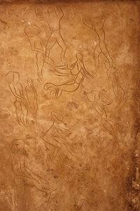 incisioni rupestri della grotta dell'Addaura