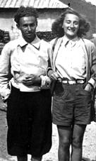 Bianca con Primo Levi a Cortina_bb