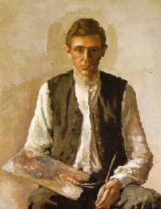 Giorgio Morandi, Autoritratto, 1925
