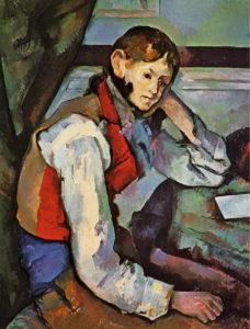 Ragazzo-dal-panciotto-rosso-Cézanne-analisi-significato