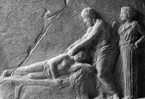 Asclepio cura, b e n