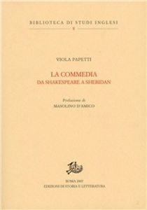 La commedia da Shakespeare a Sheridan