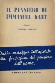 Il pensiero di Immanuel Kant