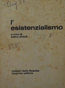 L'esistenzialismo