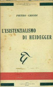 L'esistenzialismo di Heidegger