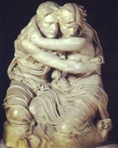 Pietro Canonica, L'abisso, 1909, Museo Canonica, Roma