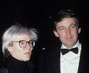 Andy Warhol e Donald Trump