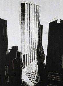 Rappresentazione di Warhol della Trump Tower
