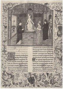 Secretum, Copertina di un'edizione del 1470