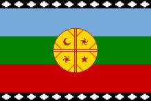 Bandiera del Mapuche