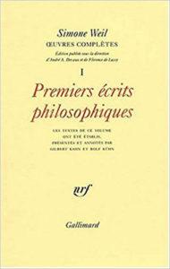 Premiers écrits philosophiques