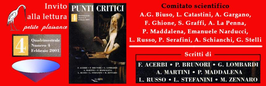 Punti Critici n. 4