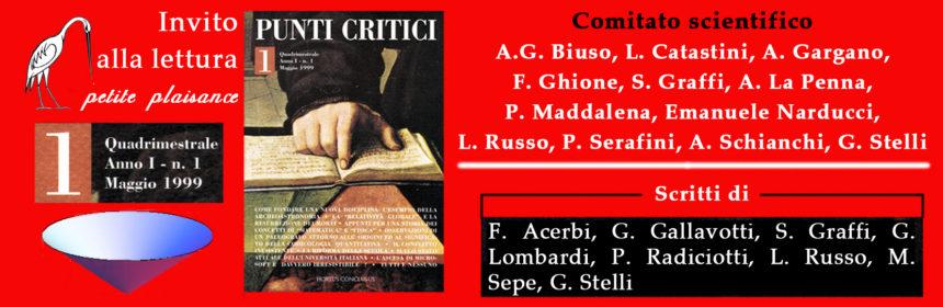Punti Critici n. 1