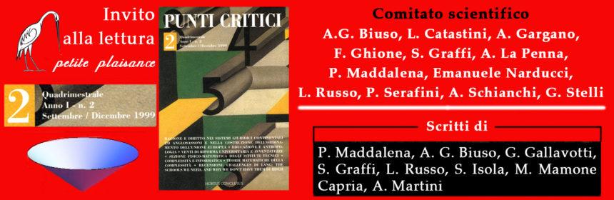 Punti Critici n. 2