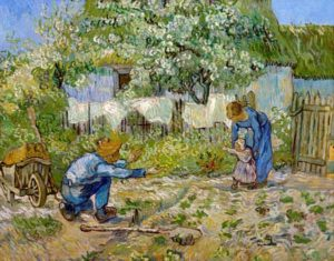 V. van Gogh, I primi passi