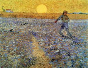 V. van Gogh, Il seminatore al tramonto