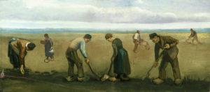 V.van Gogh, Contadini che seminano patate