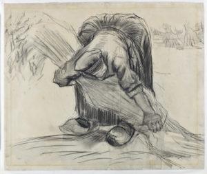 Vincent-Van-Gogh-Contadina-che-lega-fascine-di-Grano-1885-Kroeller-Mueller-Museum