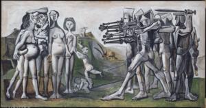 Pablo Picasso, Massacro corea