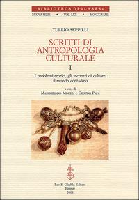 Scritti di antropologia culturale