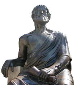 Aristotele bronzo