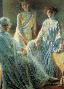 xxUmberto Boccioni, Tre donne, 1909