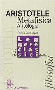Aristotele. Metafisica. Antologia, La Nuova Italia, 2001