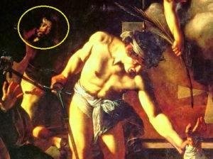 Caravaggio+opera+Il+martirio+di+San+Matteo+particolare