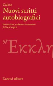 Galeno, Nuovi scritti autobiografici, Carocci