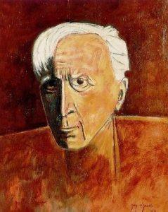 Georges_Braque_self-portrait