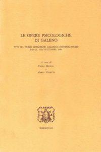 Le opere psicologiche di Galeno, Bibliopolis