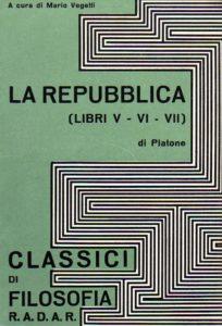 Platone, La Repubblica (Libri V-VI-VIII), Radar, 1969