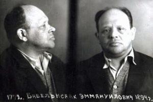 La foto di Babel' eseguita dal NKVD dopo il suo arresto