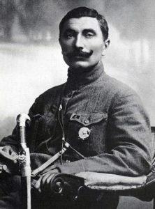 Sëmen Budënnyj, il popolare e combattivo comandante dell'Armata a cavallo.