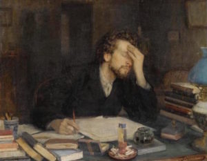 Leonid_Pasternak, The Passion of creation