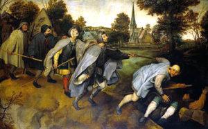 Pieter Bruegel il Vecchio, La parabola dei ciechi