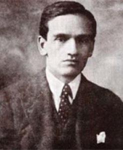 Il giovane Vallejo.