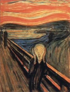 Edvard Munch, L'urlo, 1893.