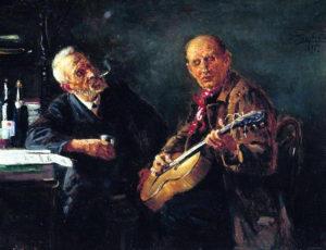Konstantin Makovskij, Amici, 1895