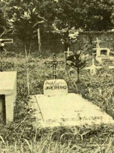 La tomba del poeta a Puerto Maldonado, Perù, frontirta con la Bolivia