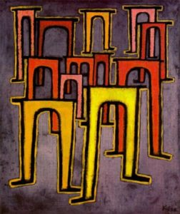 Paul Klee, Rivoluzione del Viadotto, 1937