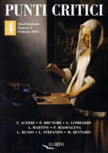 Punti Critici, n. 4