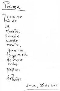 suo manoscritto