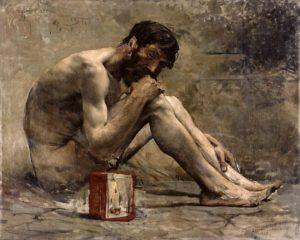 Diogene Cinico di Jules Bastien-Lepage (1873)