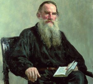 I. Repin, Ritratto di Tolstoj, 1887